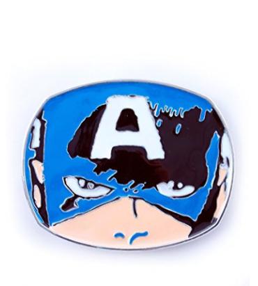 boucle ceinture marvel geek captain america