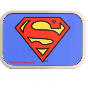 boucle ceinture superman logo