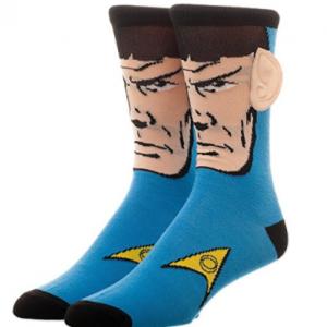 chaussette spock star trek avec oreilles