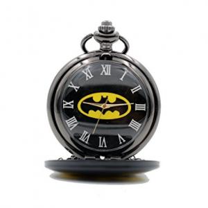 montre gousset batman poche logo