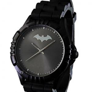 montre logo batman noire