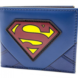 portefeuille comics geek superman